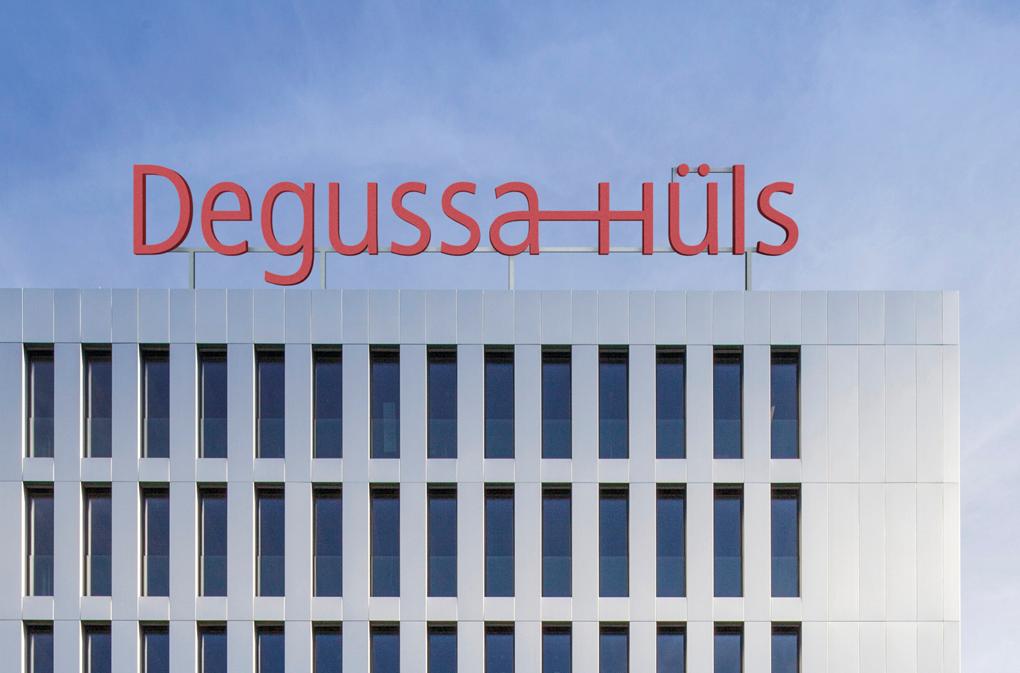 Degussa-Hüls Außenkennzeichnung